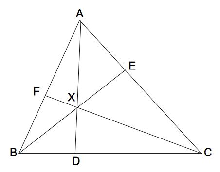 チェバの定理1 数学おじさん oj3math
