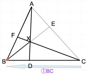 メネラウスの定理 1歩目 数学おじさん oj3math