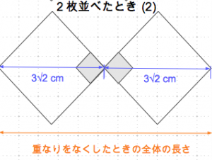 平方根の利用 全体の長さ2-2 数学おじさん oj3math