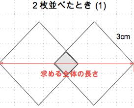 平方根の利用 全体の長さ2-1 数学おじさん oj3math