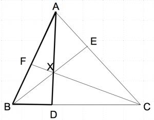 メネラウスの定理1−0 数学おじさん oj3math
