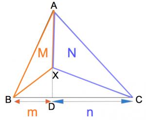 三角形の線分比と面積比パート2 数学おじさん oj3math