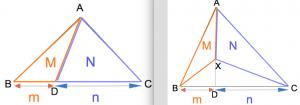 三角形の線分比と面積比1 数学おじさん oj3math