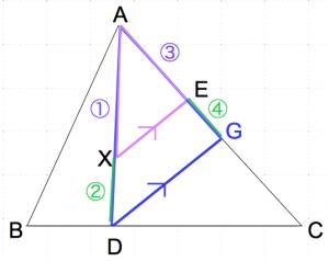 メネラウスの定理 なし2 数学おじさん oj3math