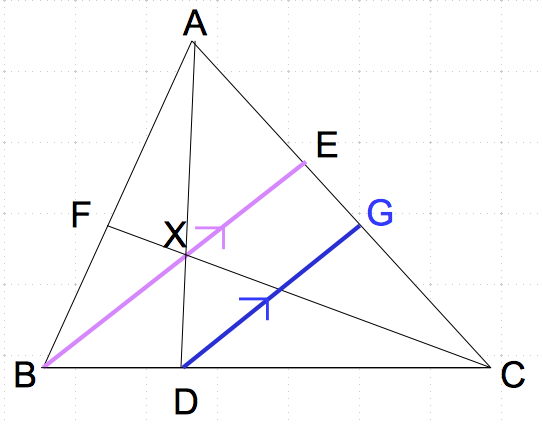 メネラウスの定理 なし1 数学おじさん oj3math