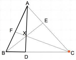 メネラウスの定理1−1 数学おじさん oj3math
