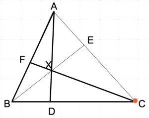 メネラウスの定理2 数学おじさん oj3math