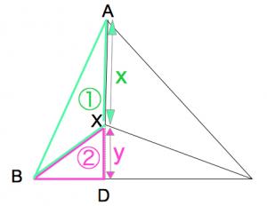 三角形ABD 数学おじさん oj3math