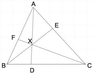 メネラウスの定理1 数学おじさん oj3math