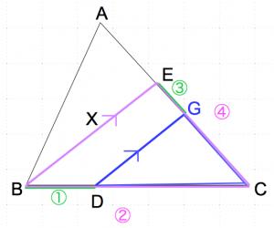 メネラウスの定理 なし3 数学おじさん oj3math