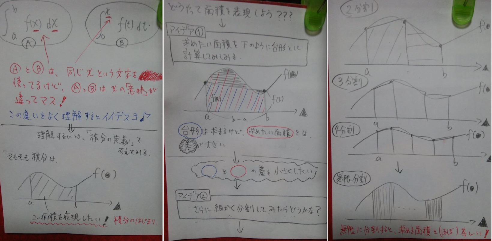積分1−3
